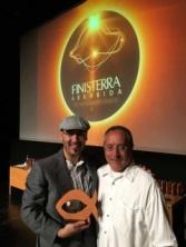 Noufel com Nobilis Bellator e o prêmio recebido em Sesimbra Portugal