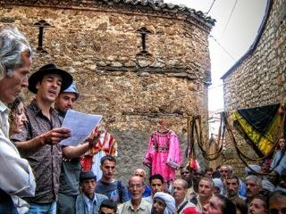 Leituras públicas em Kabylia