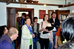 2012 - interpreting at the International Writers' Meeting