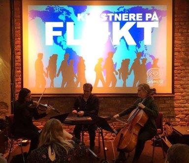Artistas recebidos pela iniciativa Safemuse - Javid Afsari Trio em Sentralen, setembro de 2017